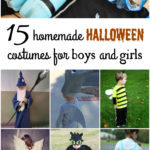 Fifteen DIY Homemade Halloween Costumes for Kids