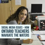 Social Media Issues – How Ontario Teachers Navigate the Waters