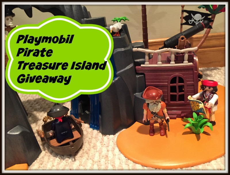 Playmobil Pirates Treasure Island Giveaway Thrifty Mommas Tips