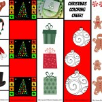 Christmas Bookmarks Printable