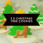 Show-stopping 3D Christmas Tree Cookies