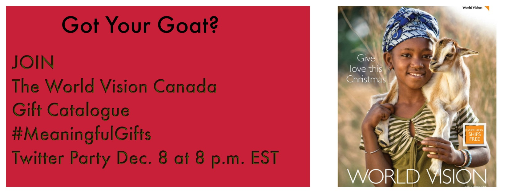 Join World Vision Canada\'s Meaningful Gifts Twitter Party ...