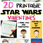 20 Printable Star Wars Valentines