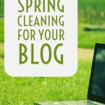 Spring Cleaning for Your Blog – Dust off the Cobwebs