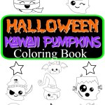 Halloween Kawaii Pumpkins Colouring Book