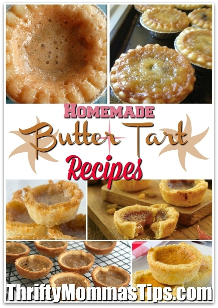 butter_tart_recipes