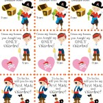 DIY Printable Pirate Valentines for Kids