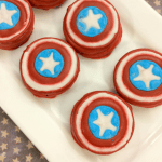 How to Make Captain America Oreos
