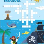 Talk Like a Pirate Day – Preschool Pirate Treasure Crossword