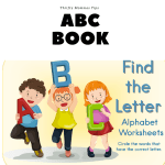 Exclusive Printable Find The Letter ABC Book