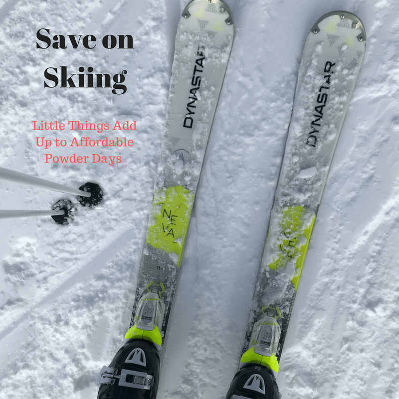 save on skiing
