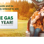 Quality Insurance and FREE GAS with Desjardins Insurance #GetAQuoteAndWin
