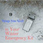 Nine Things You Need in Your Winter Emergency Kit Now