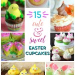 15 Cute and Sweet Easter Cupcakes