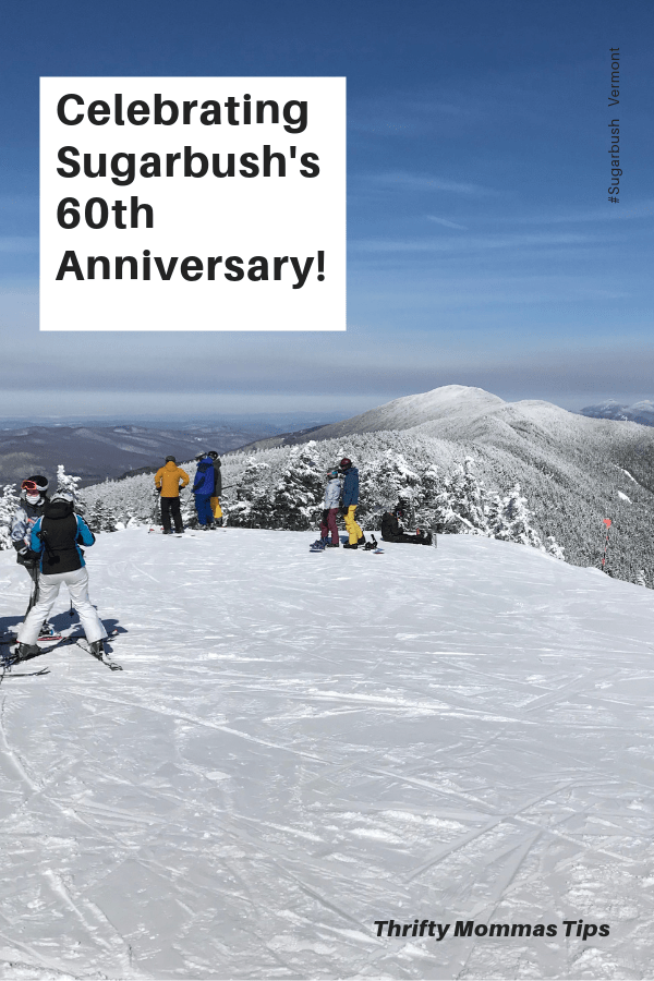 sugarbush_ski_resort_Lincoln_peak_summit_blue_sky_day