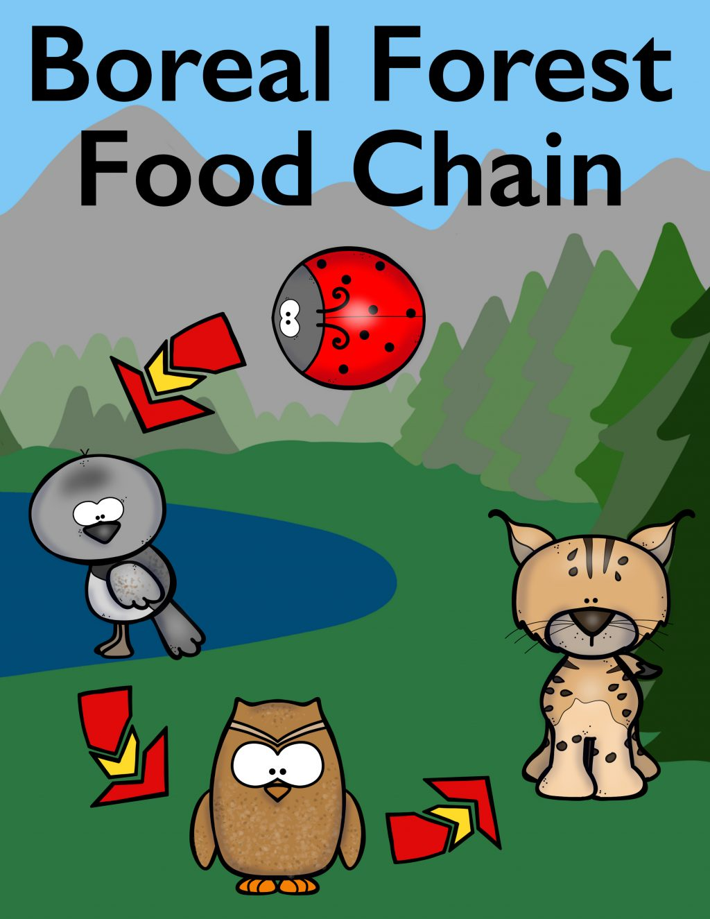 food_chain_activity_book_cute_animals