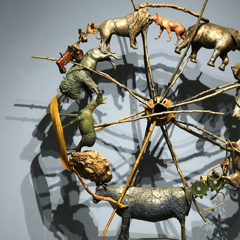 Yellowstone_art_museum_scuplture+toys_on_ferris_wheel