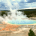 grand prismatic Yellowstone group travel with Austin adventures