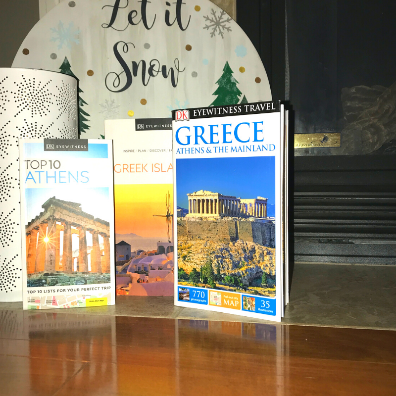 Greece travel guide books