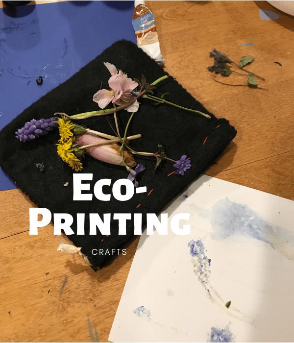 eco-printing crafts