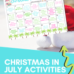 Take the Christmas in July Challenge Now!