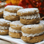 Amazing Pumpkin Spice Gingerbread Whoopie Pies