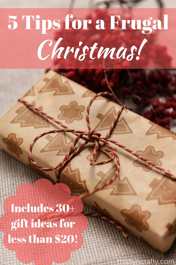 5 Easy & Smart Ways to Save Money for Christmas - Thrifty & Crafty