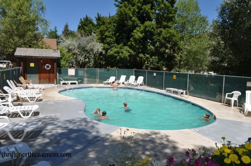 Pacifc Northwest Camping Sites  Winthrop WA KOA Campground Review  Thrifty NW Mom
