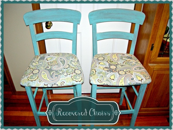 fred meyer chairs home goods dining recovering bar stools & - 5 easy steps thrifty nw mom