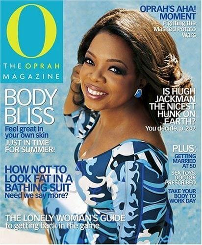 Oprah magazine subscription deals cheap sale
