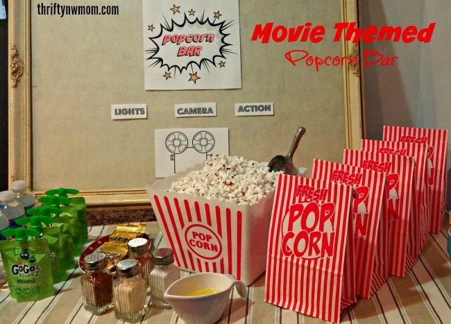 Popcorn Bar  Perfect for Many Occasions Easy On the