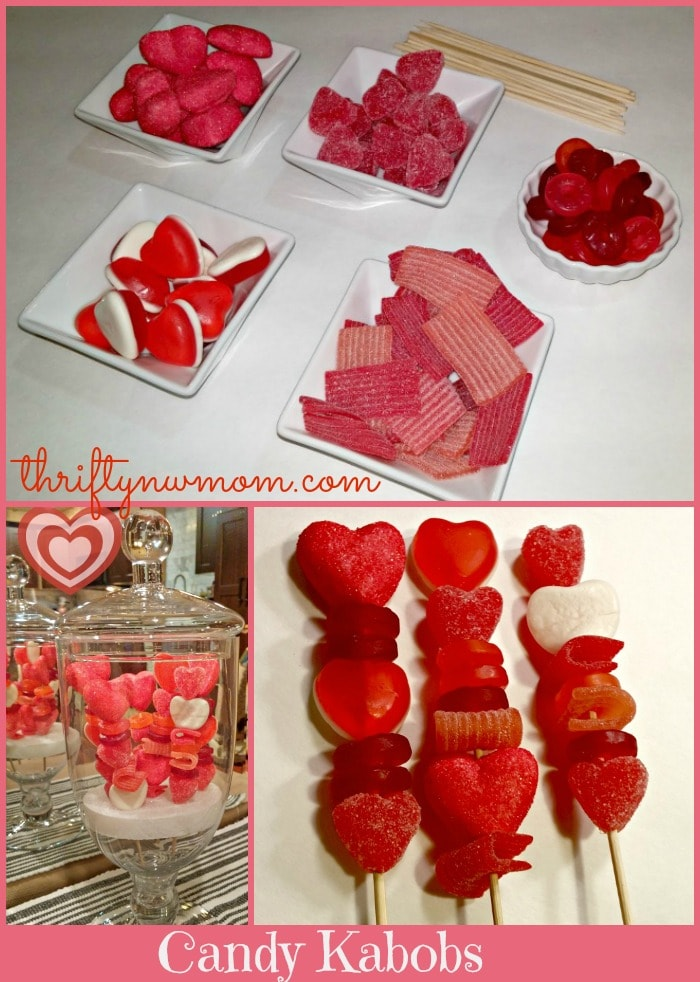 Valentine Treats Candy Kabobs FREE Printable To Make