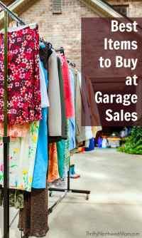 Garage Sale Treasure: 10 Best Items to Buy at Garage Sales ...