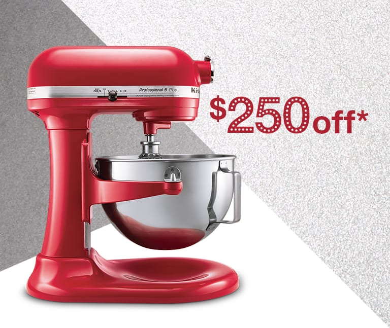 kitchen aid professional 5 plus wood shelves kitchenaid mixer - $199 ($250 off) 2 days ...
