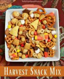 Harvest Snack Mix - Fun Fall Party Thrifty Nw Mom