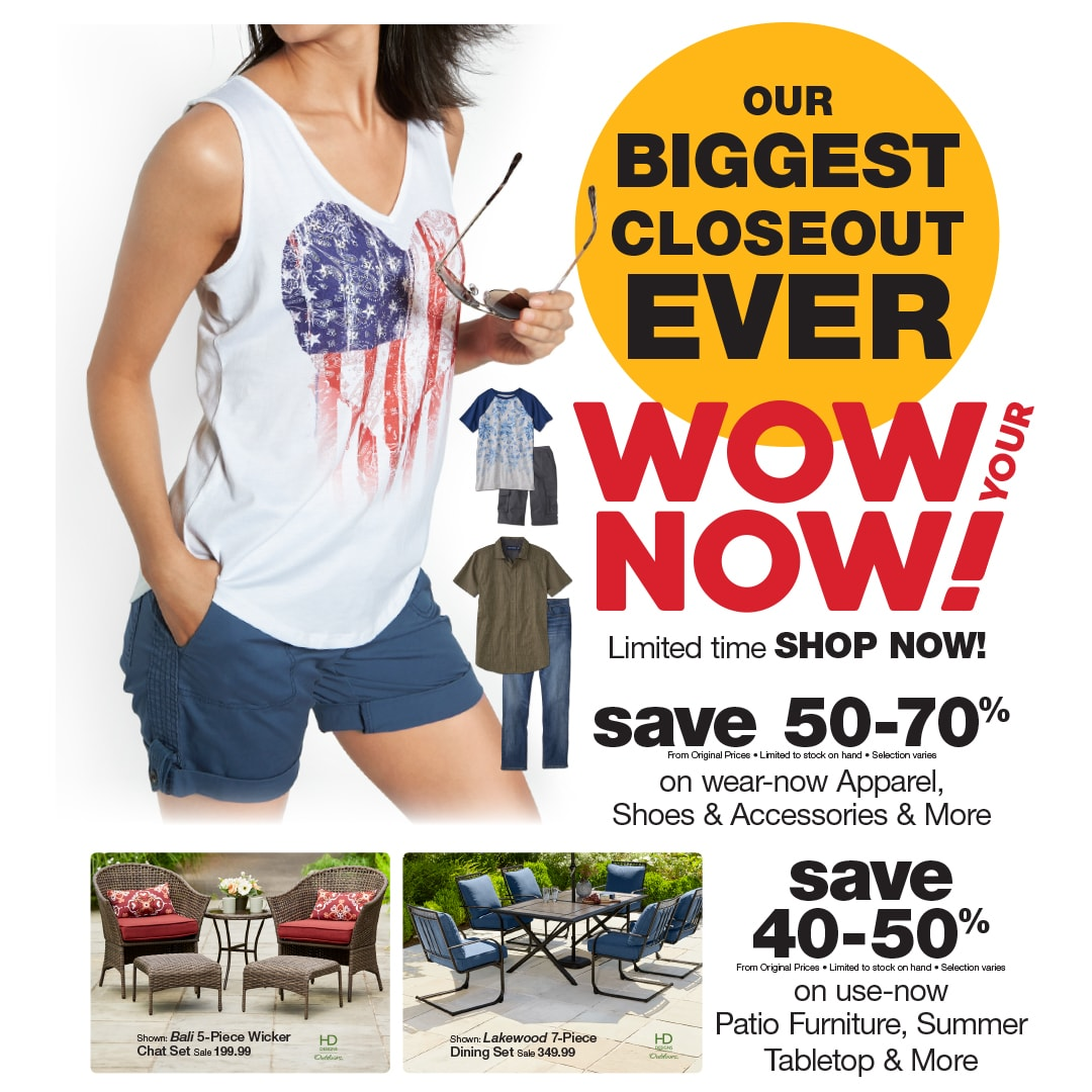 fred meyer biggest closeout sale ever