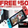 Gamestop Black Friday Sale Free 50 Gift Card With