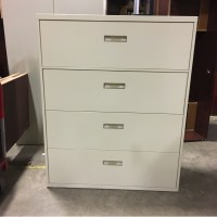 Used 4 Drawer Lateral File Cabinet (092017B)
