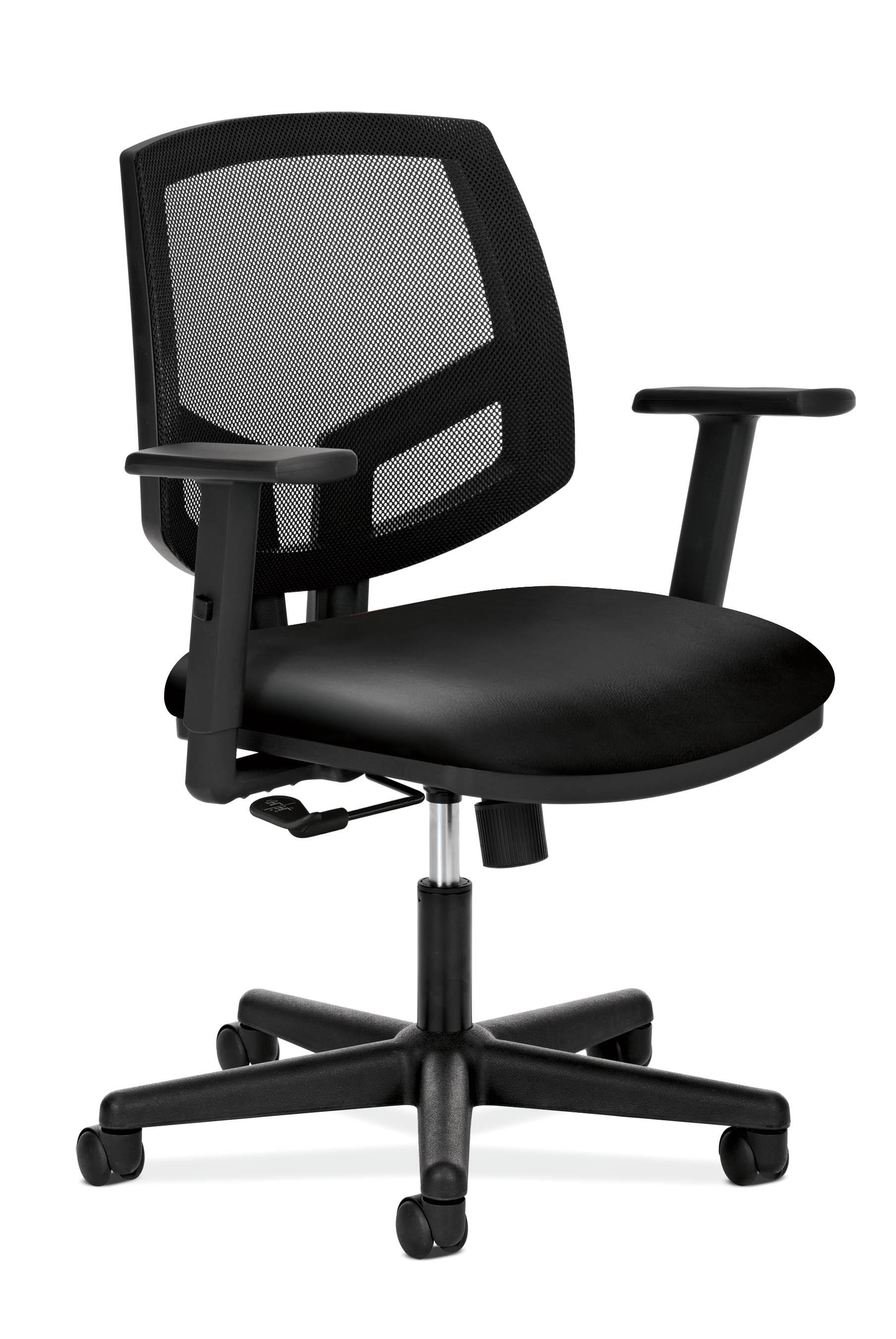HON Volt Black Leather Task Chair (H5711.SB11.T)
