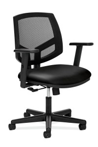 HON Volt Black Leather Task Chair (H5711.SB11.T) | Thrifty ...