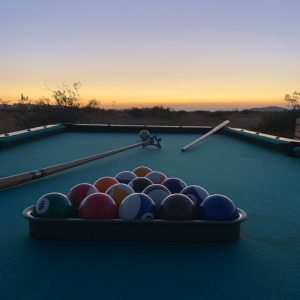 LA Desert Ranch - Pool Table Shot