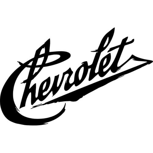 Vintage Chevrolet Decals