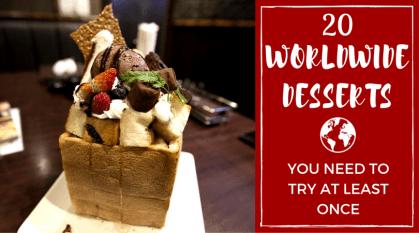 20 Worldwide Desserts