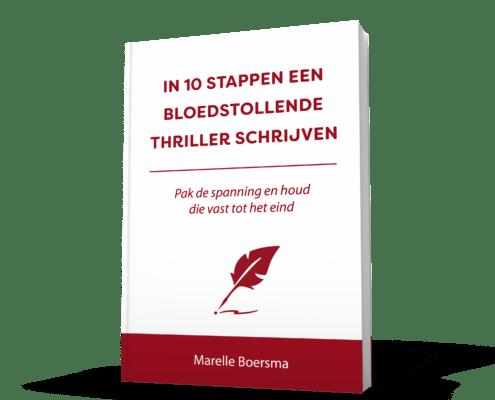 In 10 stappen een bloedstollende thriller schrijven