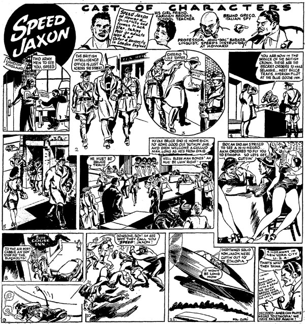 Thrilling Adventures! Speed Jaxon