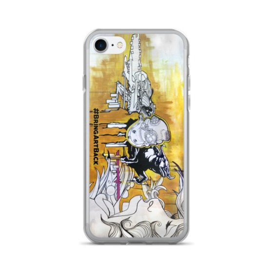 Mural iPhone Cases