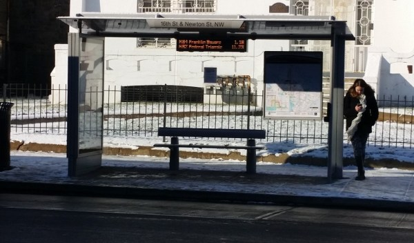 16th  St & Newton St Bus Stop
