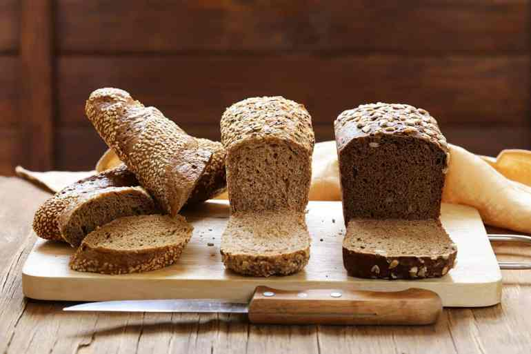 Eat whole wheat or wheat bread instead of white bread