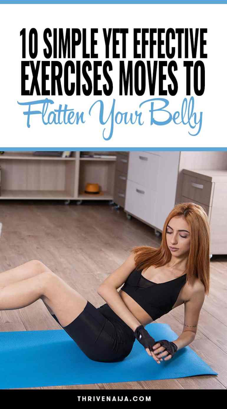 Effective Exercises to Flatten Your Belly