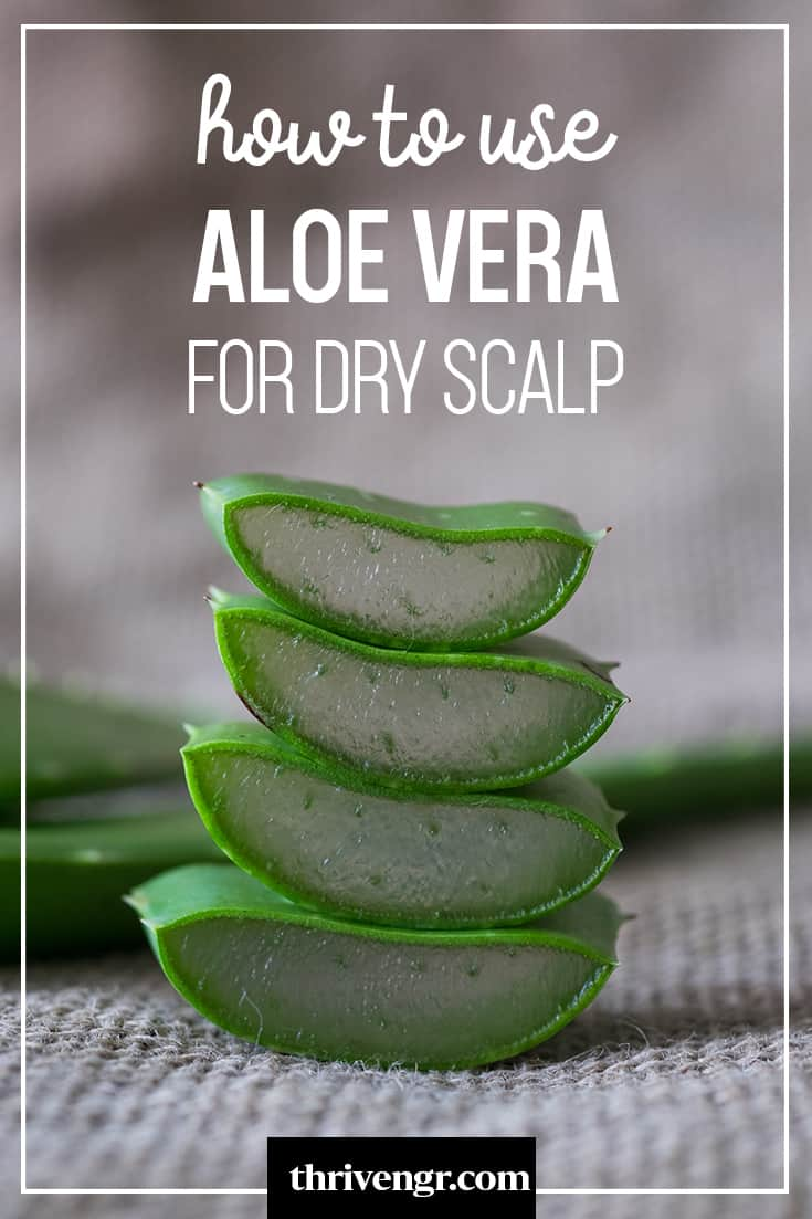 how to use aloe vera to get rid of dry scalp